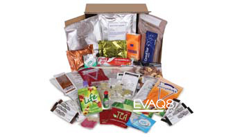 Genuine Military Style 24 hour Ration Pack British Army | MRE info from EVAQ8 the UK's Emergency Preparedness specialist