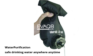 Not just MRE food but also Water Purification | safe drinking water anywhere anytime | MRE info and Waterpurification from EVAQ8 the UK's Emergency Preparedness specialist